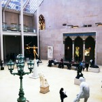 the Sculpture Court in the American Wing