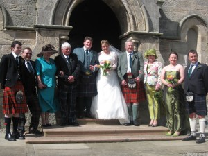 families of the bride and groom
