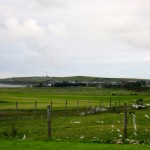 view of Portmahomack from Drumancroy Farm