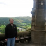 Andy atop the William Wallace Monument
