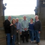 the group from RCLPC atop the William Wallace Monument
