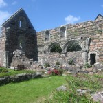 the abandoned Nunnery on Iona