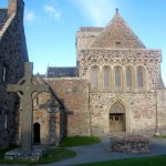 the Abbey Church on Iona