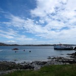 the ferry to Mull on the Sound of Iona