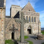 St. John's Cross and Iona Abbey