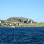 Iona Abbey from the ferry