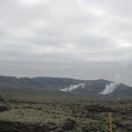 lava fields and geothermal hotspots outside Reykjavk