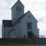 Skálholt Cathedral, on the site of the capital of Iceland