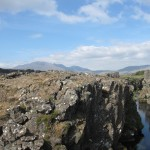 the intersection of tectonic plates at ingvellir
