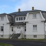 Hfi House, site of the Reykjavk Summit between Ronald Reagan and Mikhail Gorbachev in 1986