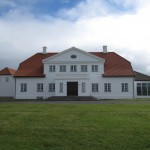 home of the president of Iceland at Bessastair