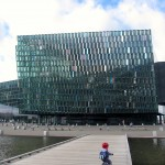 Harpa Opera House, across the street from my hotel