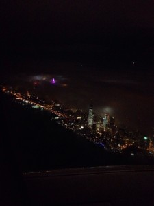 NYC in fog