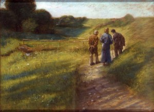 Fritz von Uhde, Road to Emmaus